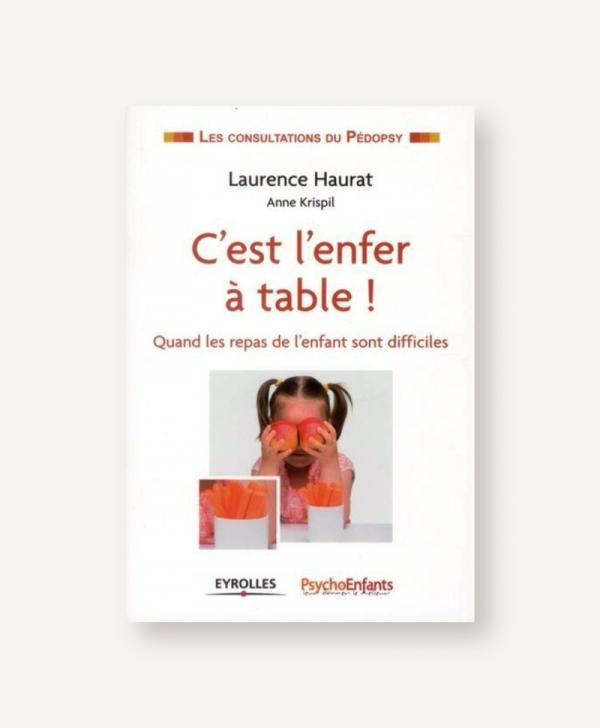 """Livre """"C'est l'enfer à table"""""""